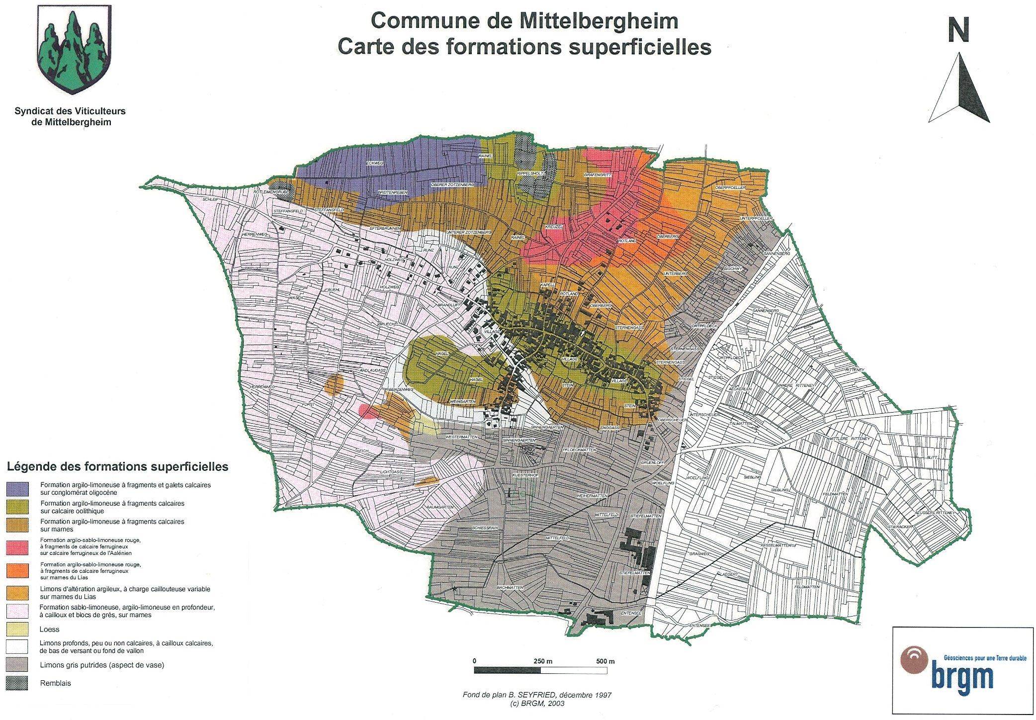Carte Calcaire Alsace.Mittelbergheim Et Le Zotzenberg La Route Du Vin Alsace